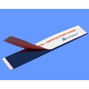 Artikulační papír proužky modré 12x10 listů