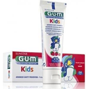 Gum Kids zubní pasta (2-6) Jahodová 50ml
