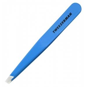 Tweezerman Slant Blue Jewel Pinzeta modrý klenot