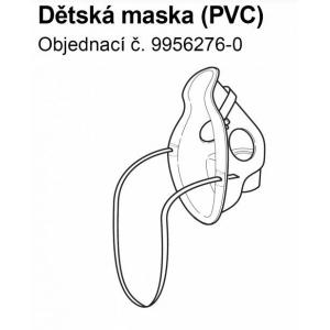 Příslušenství - Maska PVC pediatrická