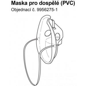 Příslušenství - Maska PVC pro dospělé