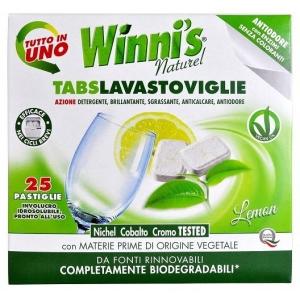 WINNI´S Tabs Lavastoviglie 25 ks hypoalergenní tablety do myčky