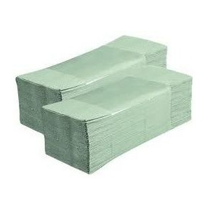 Ručníky ZZ zelené 1V - 5000 ks