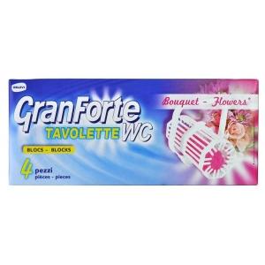 GRANFORTE WC Bouquet 4 ks