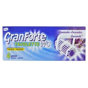 GRANFORTE WC Lavanda 4 ks