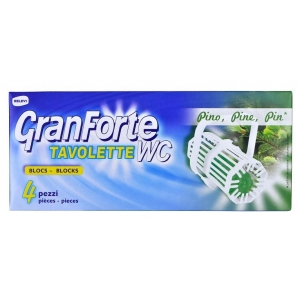 GRANFORTE WC Pino 4 ks